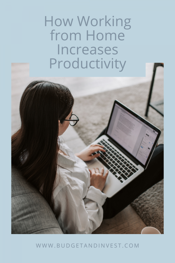 How Working from Home Increases Productivity