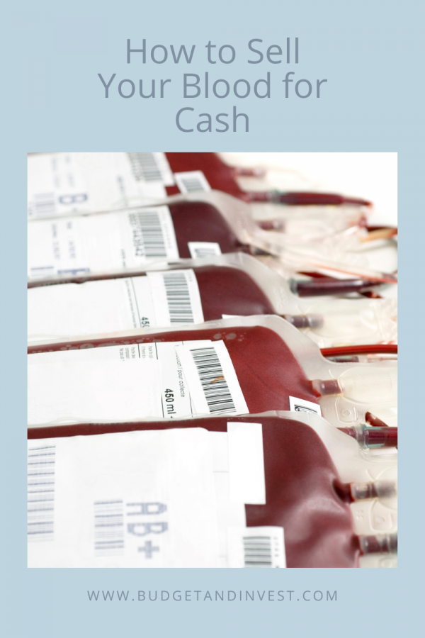 How to Sell Your Blood for Cash